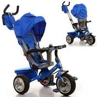 Велосипед трехколесный М 3205А-1 с поворотным сиденьем (синий) KK