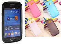 Силиконовый чехол для Samsung g130e galaxy star 2 duos