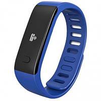 Фитнес-браслет MyKronoz ZeFit2 Blue Silver (KRZEFIT2-BLUE) Акселерометр, Оповещение о входящих, Отслеживание сна, Расчет затраченных калорий, Шагомер