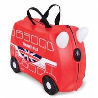 Детский чемоданчик на колесах Boris Bus TRUNKI (0186-GB01-UKV)