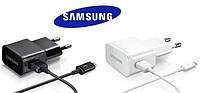 Сетевое зарядное устройство 2 в 1 для Samsung Galaxy J1 J100 скоростное оригинал