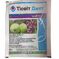 Тиовит Джет, препарат для защиты яблонь, груш, винограда и овощных культур от мучнистой росы, оидиуму и клещей