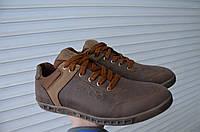 Модные мужские кожаные кроссовки Ecco, фото 1