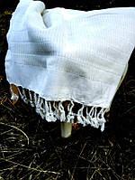 Пляжное полотенце пештемаль  100х180  Buldans Harman белое