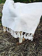 Пляжное полотенце пештемаль  100х180  Buldans Harman натуральный