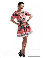 Платье-туника 2 цвета с 42 по 52 размер