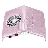 Настольная вытяжка (пылесос) Absorb Dust Machine на 23 Вт (velur pink) 300х270х110 мм
