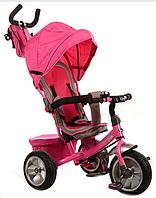Велосипед трехколесный М 3205А-3 с поворотным сиденьем (розовый) KK