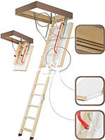 FAKRO LWT Thermo Раскладная  лестница с люком
