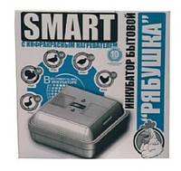 Инкубатор бытовой Рябушка Smart на 70 яиц (тэновый механический цифровой)