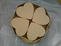 Набор шкатулок (Картонные заготовки)