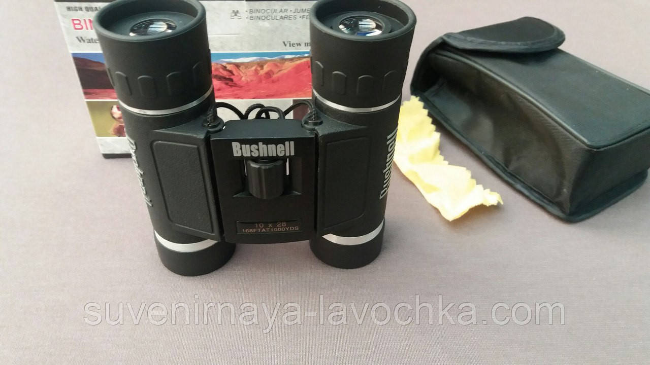 Бинокль 10x28 - BSH black