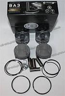 Поршень  ВАЗ-11194 76,5 + кольца + пальцы ( к-т 4 шт.) (гр.С)