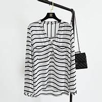 Рубашка женская стильная полосатая NEW