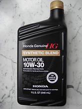 Моторное масло Honda Synthetic Blend 10W-30