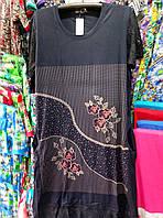 Женское качественное батальное платье 4ХЛ-6ХЛ