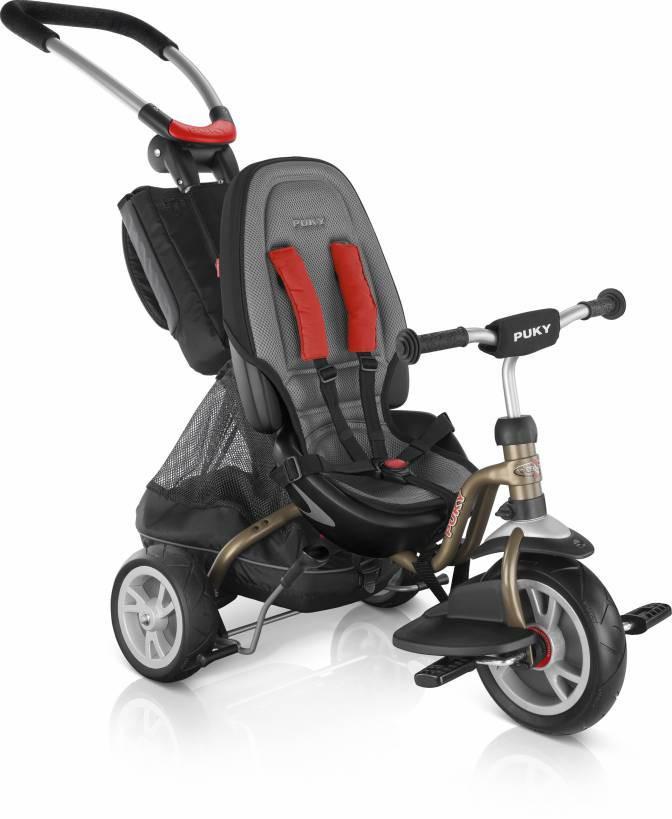 Трехколесный велосипед Puky CAT S6 Ceety (золотой)