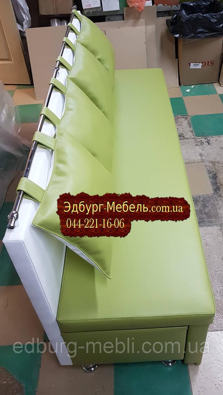 Диван для узкой комнаты с ящиком + спальным местом 1800х500х870мм - фото 3