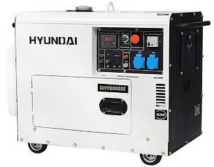 Генератор Hyundai DHY 8000SE, фото 2