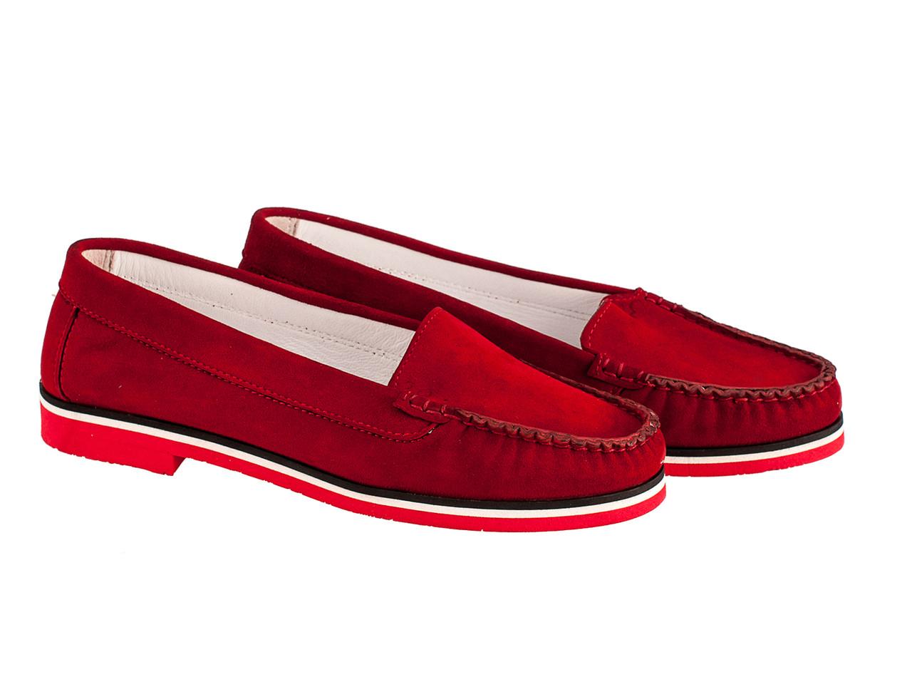 Мокасини Etor 4019-2532 37 червоні