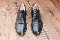 Английские туфли  броги, 29.5 см, 44.5 размер. Код: 231.