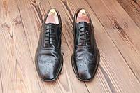 Классические английские туфли  броги, 29.5 см, 44.5 размер. Код: 231.
