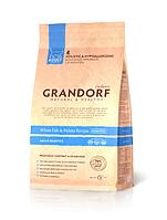 Grandorf (Грандорф) White fish & Potato Adult Sensitive корм для кошек (400 г) белая рыба с картофелем