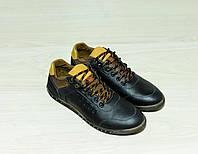 Мужские туфли кожаные (спорт)