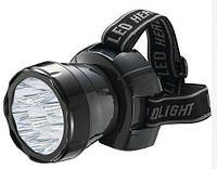 Фонарик налобный HOROZ ELECTRIC BECKHAM-4 HL349L 220-240V 0,9W 9LED