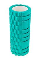 Ролик для йоги, пилатеса и фитнеса SC-EVA (голубой)