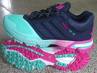 Женские кроссовки Adidas Marathon TR 15 (адидас марафон) синие