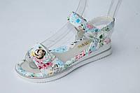 Детская летняя обувь. Босоножки на  девочек оптом от фирмы С.Луч 1606-3 (8 пар, 26-31)