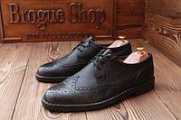 Мужские  туфли броги  Sioux, made in Germany, 29 см, 44 размер. Код : 009.