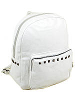 Классическая сумка рюкзак белая