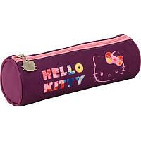 Пенал-тубус школьный (1 отд) KITE 2017 Hello Kitty 640