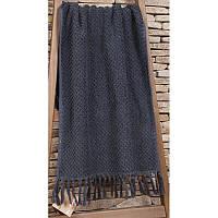 Махровое полотенце  из хлопка и тенсела 50х90 Buldans Cakil antrasit