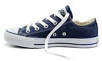 Мужские Converse Chuck Taylor All Star Low Blue (конверс)