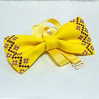 Вишитий метелик-краватка  (ручна робота)