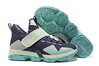 Мужские баскетбольные кроссовки Nike LeBron 14 (Black/Mint), фото 1