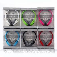 Наушники (блютуз) bluetooth + FM приемник + mp3 плеер Sh-12 green