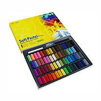 Набор сухой пастели 64 цвета квадратная MPS-64 Mungyo, 94100673