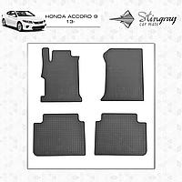 Коврики резиновые в салон Honda Accord c 2013 (4шт) Stingray