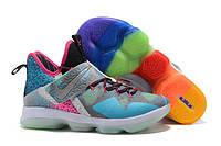Мужские баскетбольные кроссовки Nike LeBron 14 (Multicolor), фото 1