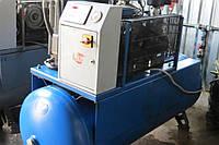 Винтовой компрессор бу Ремеза ВК20А-10-500 (1.9 м куб./мин., 10 бар) и осушитель воздуха Omi TME270
