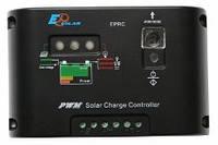Фотоэлектрический контроллер заряда EPRC10-EC (10А, 12/24Vauto, таймер уличного освещения)