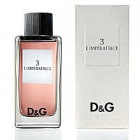 Женская туалетная вода Dolce&Gabbana Anthology L`Imperatrice 3 EDT 100 ml