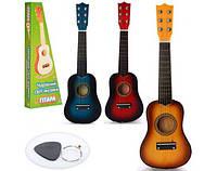 Гитара игрушечная для развития ребенка. Подарок на праздник M 1370