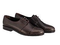 Кожаные туфли TM ETOR большие размеры