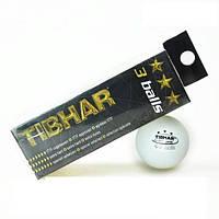 Мячи для настольного тенниса тренировочные 3 шт 40 мм белые