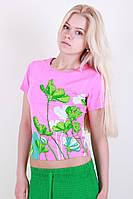 Женская футболка из летней ткани